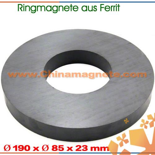 Größer Ferrit Ringmagnete