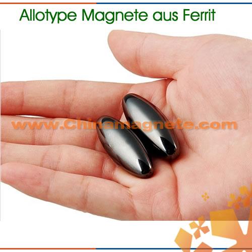 Ovalmagnete aus Ferrit