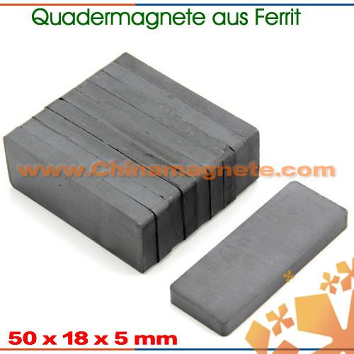 Hartferritmagnete Quader