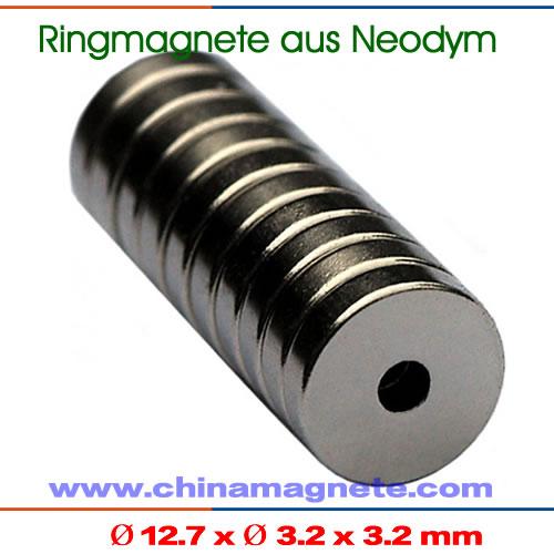 Permanentmagneten Ringe