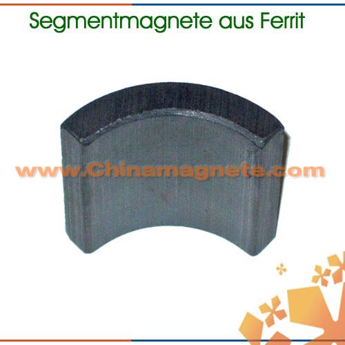 Segmentmagnete aus Ferrit