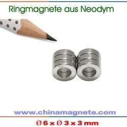 Vergoldet Neodym Ringmagnete