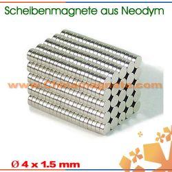 Neodym-Eisen-Bor Scheibenmagnete