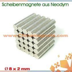 Scheibenförmigen Neodym Magnete
