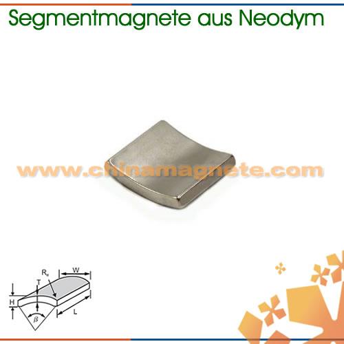 N30EH Super Segmentmagnete